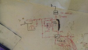 Rough Wiring Diagram