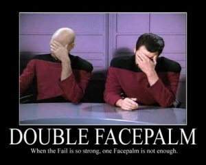 Picard & Riker Facepalm!